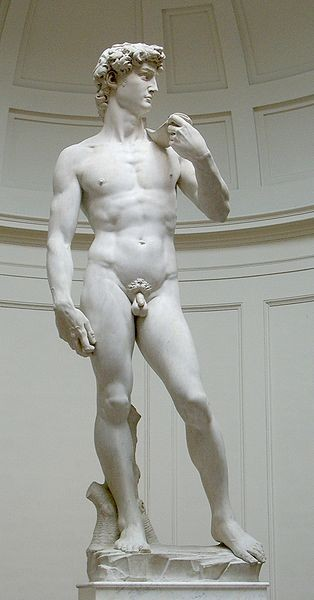 Photo:  David, Michelangelo Buonarotti
