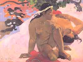 Photo:  Paul Gauguin, Aha oe feii, 1892