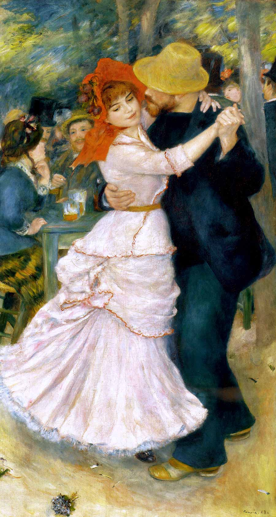 Photo:  Pierre Auguste Renoir,Dance at Bougival, 1883