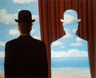 Photo:  Rene Magritte,Decalcomania,1966