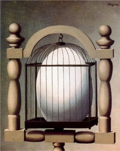 Photo:  Rene Magritte,Elective Affinities,1933