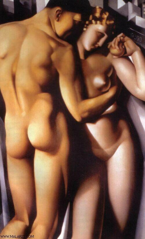 Photo:  Tamara de Lempicka-Adam-and-Eve-1932