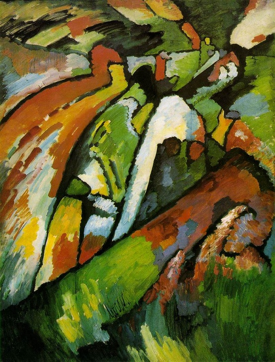 Photo:  'Improvisation 7', Kandinsky 1910