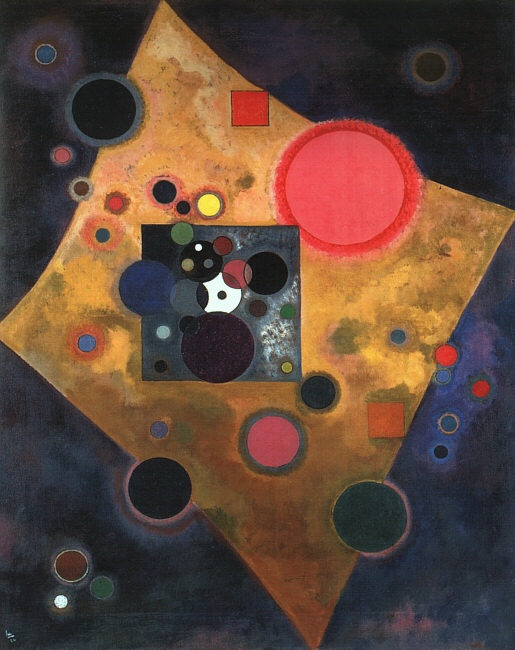 Photo:  Kandinsky. Accent on Rose. 1926