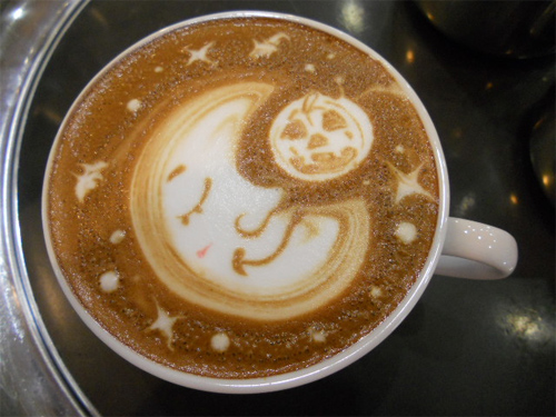 Photo:  Coffee Art 01