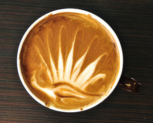Photo:  Coffee Art 02