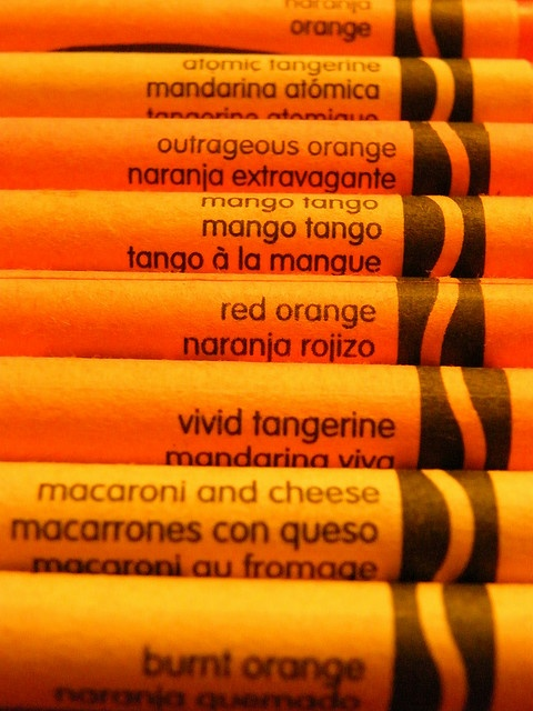 Photo:  crayons