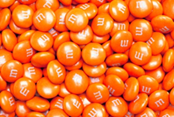 Photo:  m&m orange