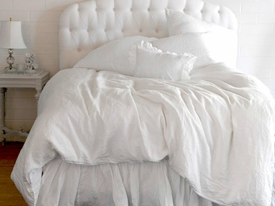 Photo:  white bed