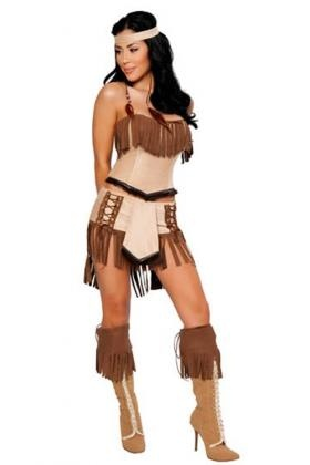 Photo:  Indian Cherokee Princess Costume