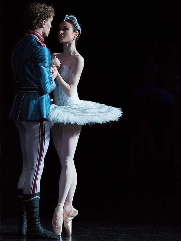 Photo:  Adam Bull and Amber Scott in Swan Lake.