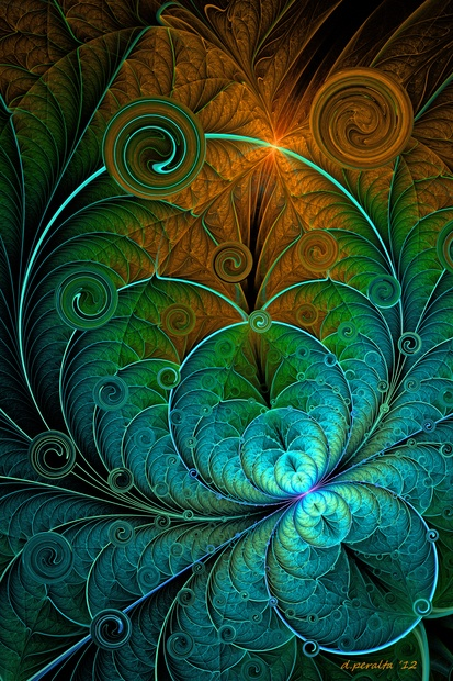 Photo:  Digital Fractal