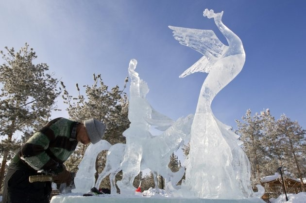 Photo:  Ice Sculpture 2