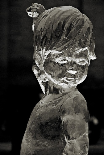 Photo:  beautiful ice sculpture