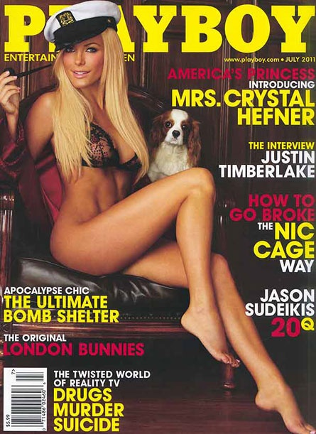 Photo:  Crystal-Harris-Covers-Playboy-Magazine-July-2011