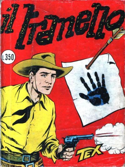 Photo:  Tex Willer 10, Luglio,Agosto 1960