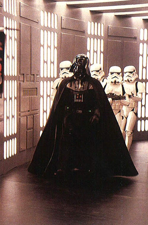 Photo:  Darth Vader and Stormtroopers