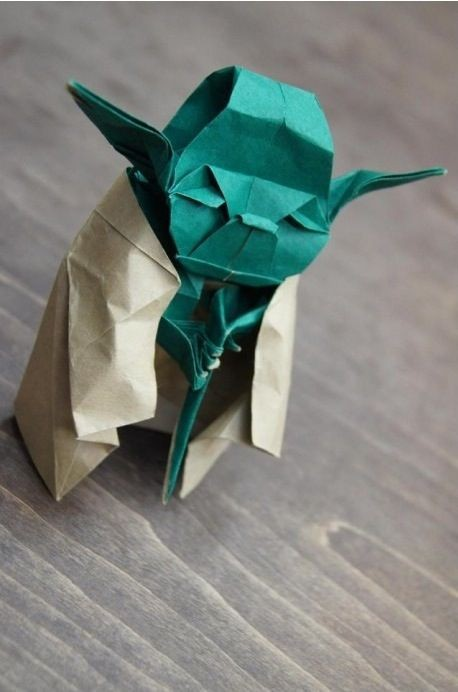 Photo:  origami star wars