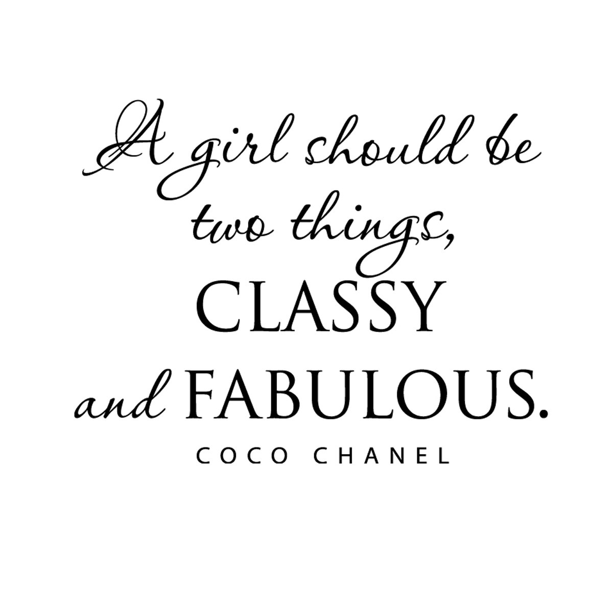 Photo:  Coco-Chanel-girly-beauty-quote