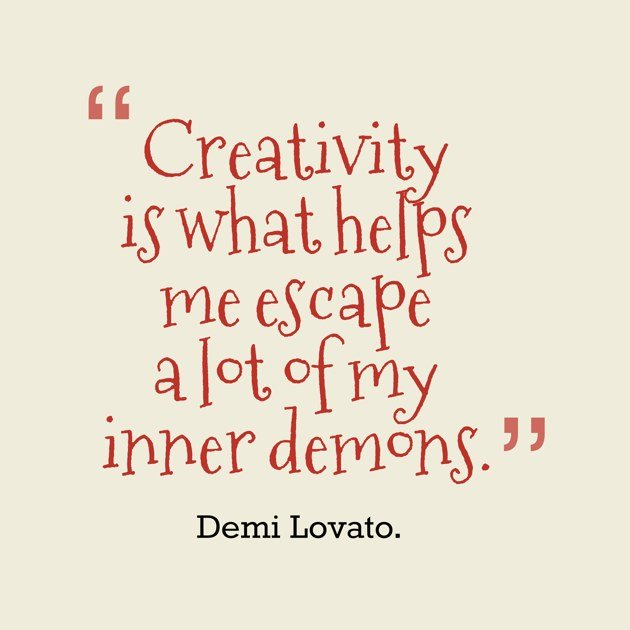 Photo:  creativity quote 006-Creativity-helps-me-ecape