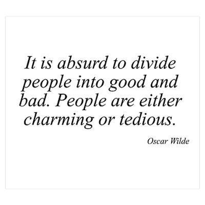 Photo:  Oscar Wilde quote 005