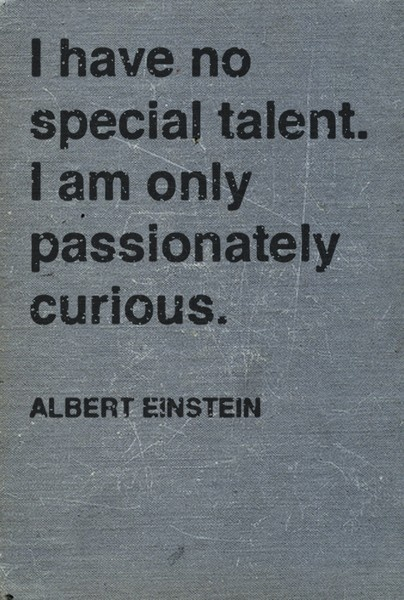 Photo:  albert einstein talent