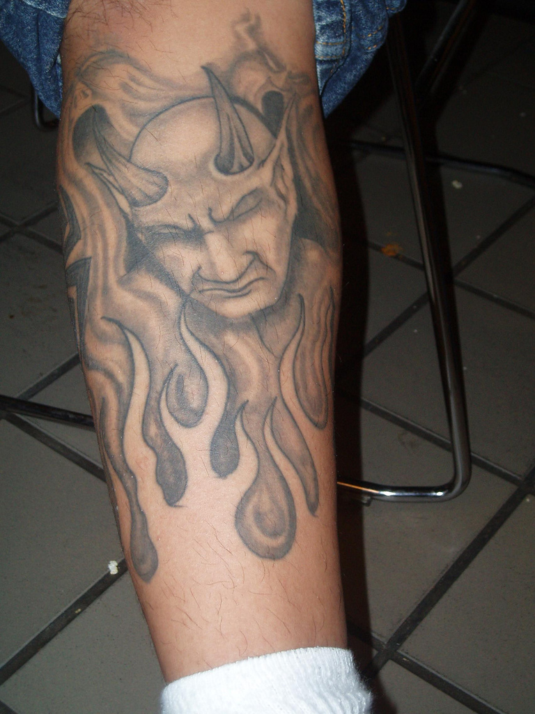 Photo:  Devil Tattoo 020