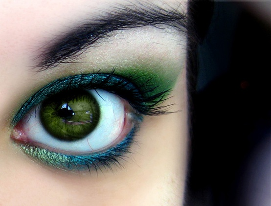Photo:  beautiful green eyes