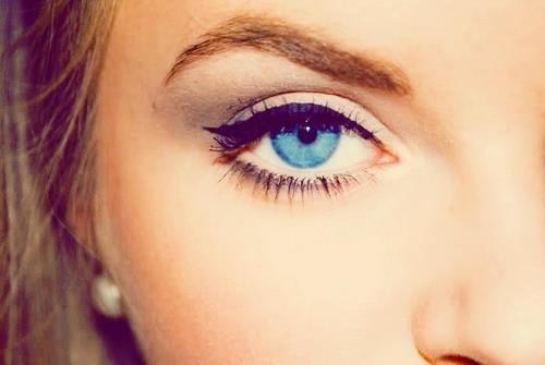 Photo:  blue eyes