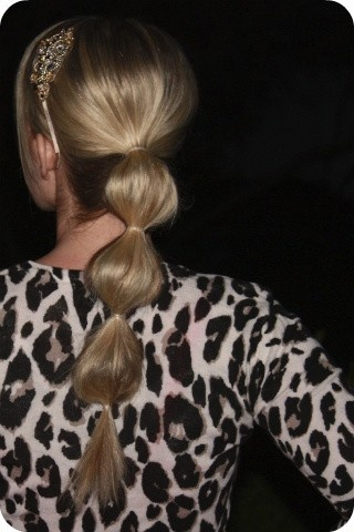 Photo:  Bubble Ponytail