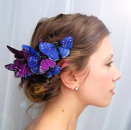 Photo:  Butterfly hair clip