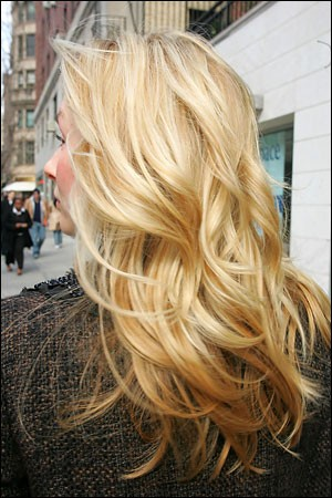 Photo:  blonde color