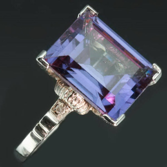 Photo:  antique alexandrite