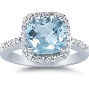 Photo:  aquamarine ring