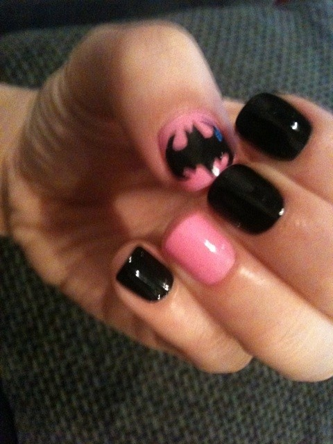 Photo:  Batman nails 01