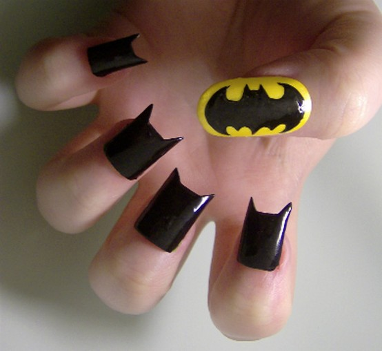 Photo:  batman nails 03
