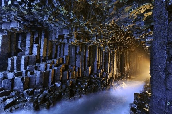 Photo:  Cave of Fingal