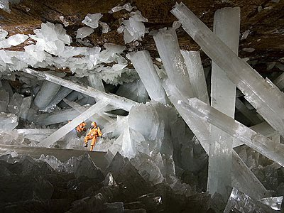 Photo:  Cave of Giant Crystals
