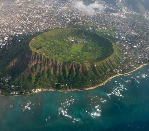 Photo:  Diamond Head Crater, Oahu, Hawaii