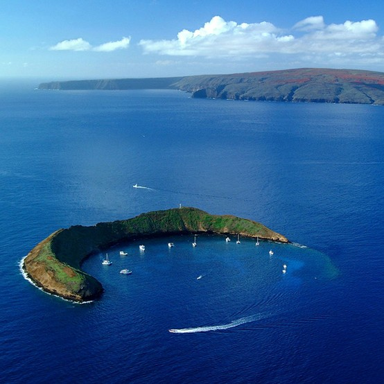 Photo:  Molokini Crater