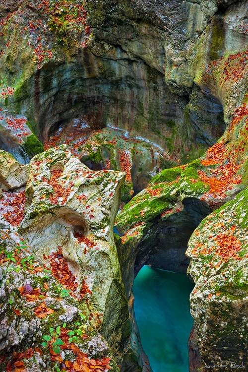Photo:  Mostnica Gorge, Slovenia