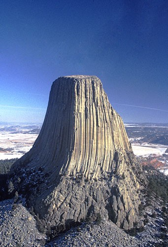Photo:  Devil's Tower, Wyoming