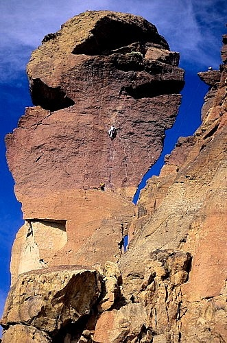 Photo:  'Monkey Face' @ Smith Rock State Park, Terrebonne Oregon