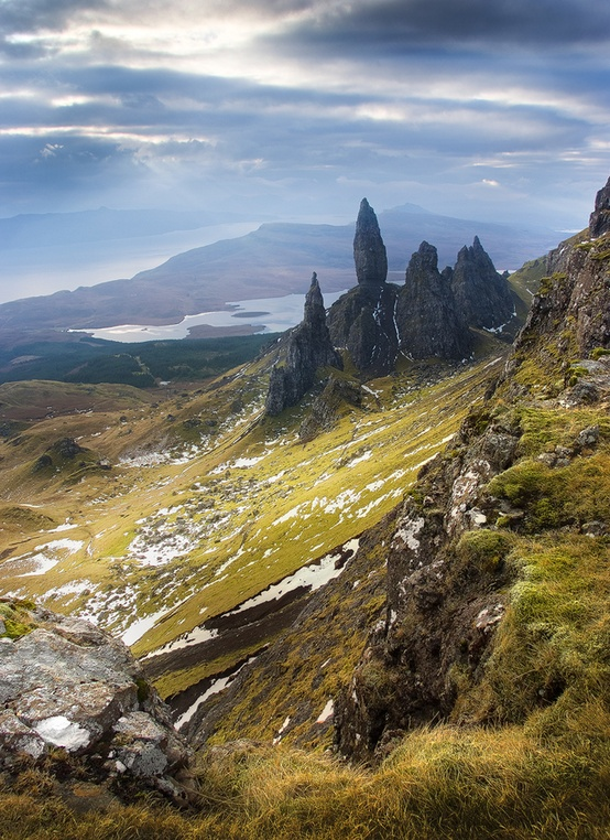 Photo:  The Old Man Of Storr, Isle Of Skye, Scotland.