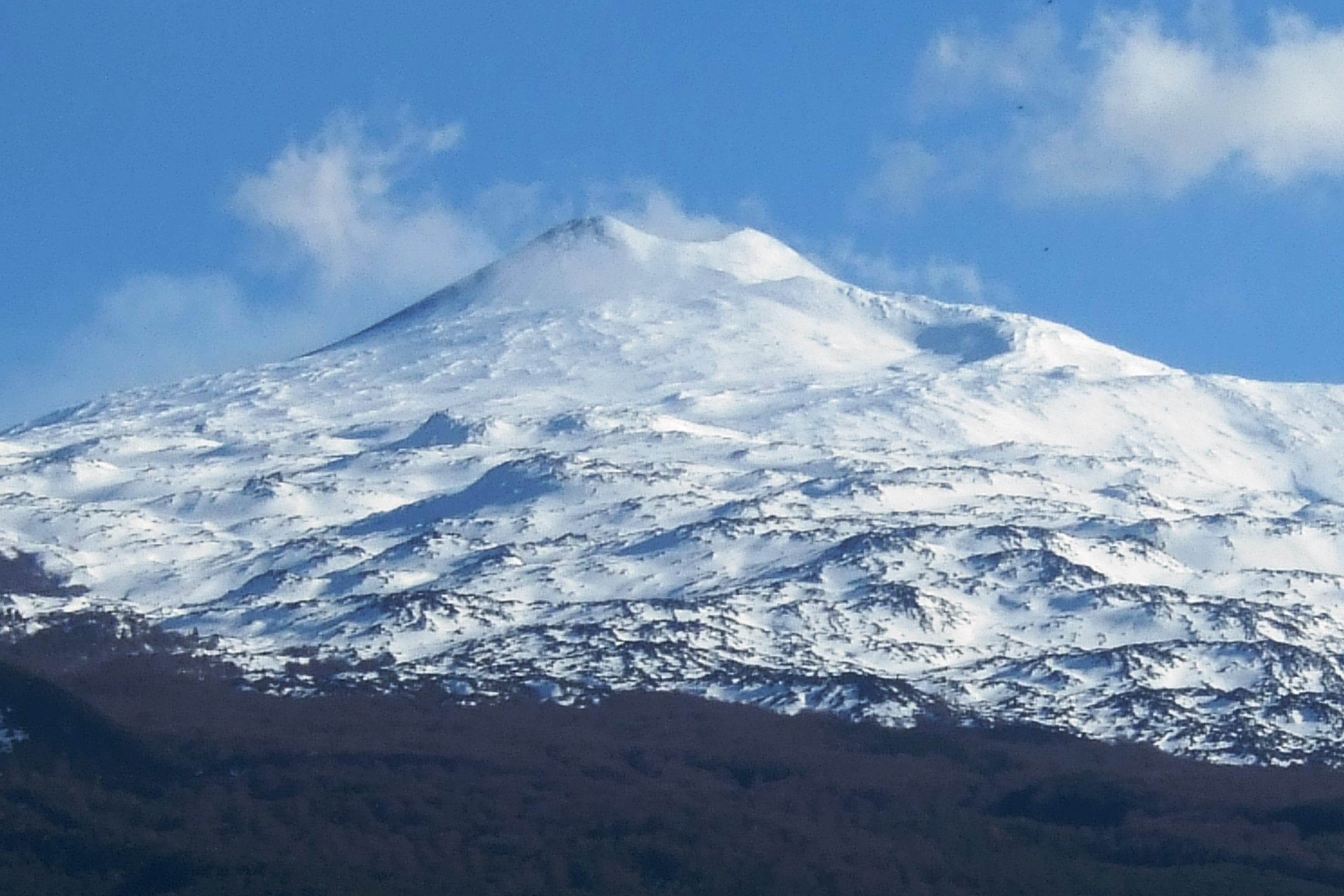 Photo:  Mount Etna from Randazzo