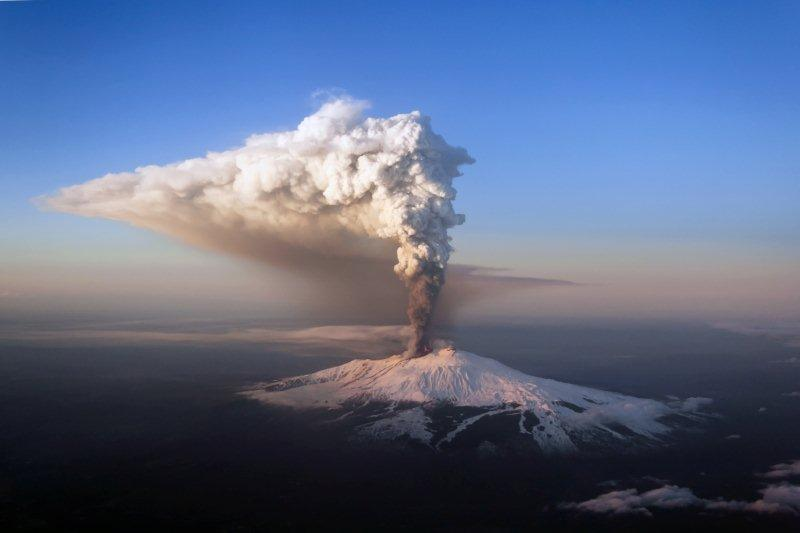 Photo:  Volcano Etna  Aerial Image