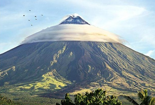 Photo:  Mayon Volcano in Albay Province, Philippines