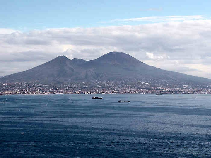 Photo:  vesuvio fron Naples