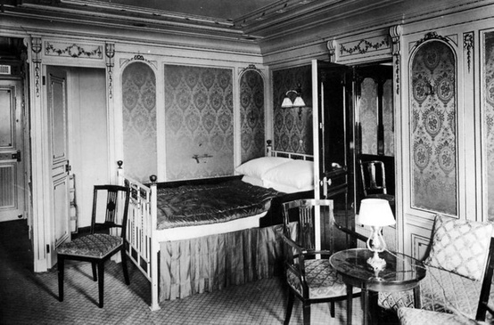 Photo:  First class accommodations aboard the RMS Titanic 2