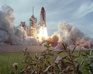 Photo:  Space Shuttle Challenger at the Kennedy Space Center in January, 1986